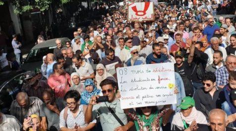35e mobilisation estudiantine : Les étudiants soutiennent les détenus d'opinion