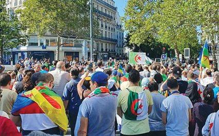 Forte mobilisation de la diaspora algérienne en France : Marche à Paris pour la libération des détenus d'opinion