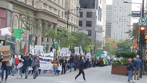 Acte 34 de la révolution citoyennes des algériens à Montréal : Mobilisation contre la loi sur les hydrocarbures