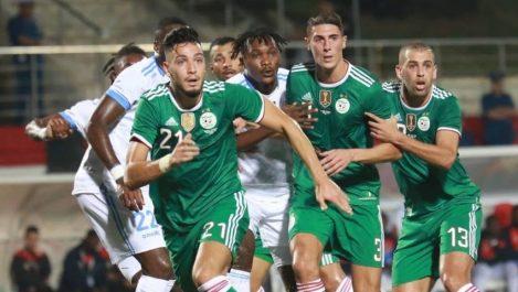 Algérie – Colombie : Ce soir à Lille à 21h en amical  Test grandeur nature