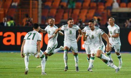 L'Algérie s'impose brillamment face à la Colombie !