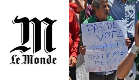 Le journal français «Le Monde» publie un éditorial cinglant sur la présidentielle en Algérie