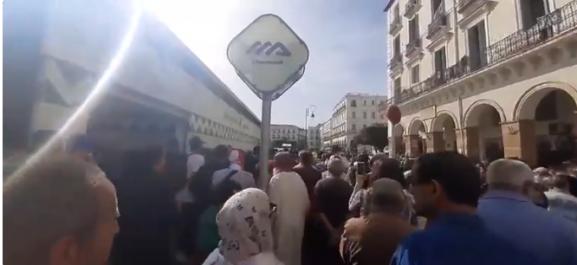 Vidéo : début du 35ème mardi de protestation à Alger