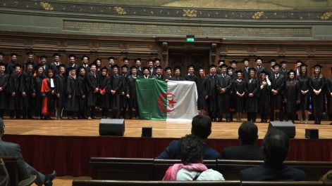 MBA : Remise de diplômes à 62 cadres algériens à la Sorbonne