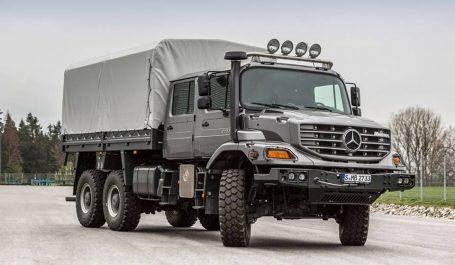 Le Mercedes Benz Zetros pour le secteur civil en décembre