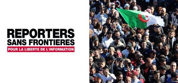 Reporters sans frontières lance un appel aux autorités algériennes