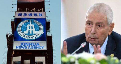 L'agence officielle chinoise commente la présidentielle algérienne