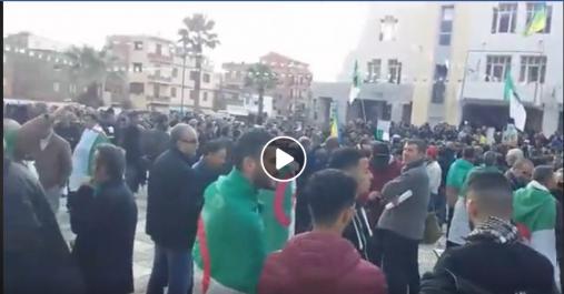 Béjaia: 39e mardi contre l'élection présidentielle et pour la libération des détenus d'opinion et politiques