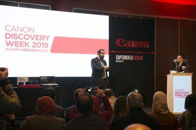 Lancement de la première Canon Discovery Week en Algérie