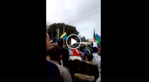 Imposante manifestation ce samedi à Kherrata !