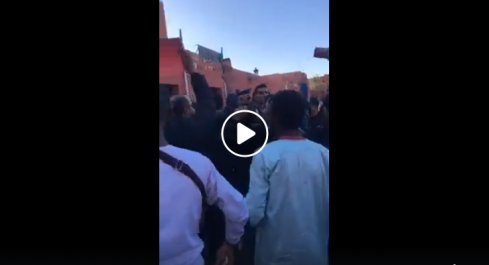 Manifestation à Adrar contre la venue des candidats Belaïd et Mihoubi