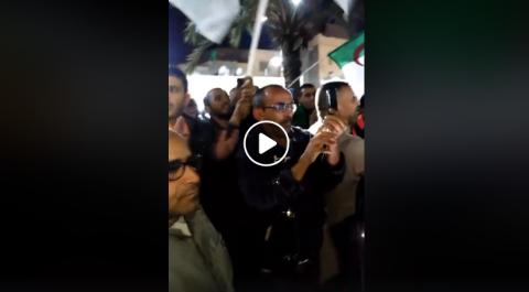 À El Oued, ils se sont mobilisé ce jeudi contre la présidentielle
