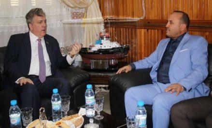 """L'ambassadeur des USA en visite à Jijel : """"Examiner les moyens de coopération économique bilatérale"""""""