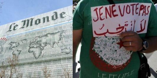 Le journal Le Monde qualifie le prochain scrutin de « parodie d'élection »