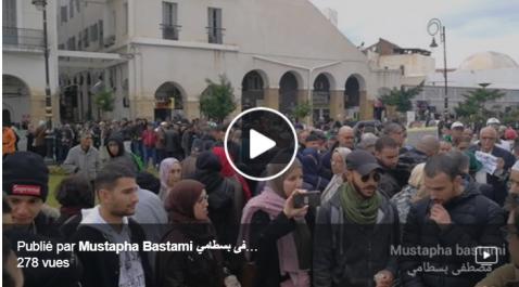 Alger: début du 39e mardi du mouvement populaire