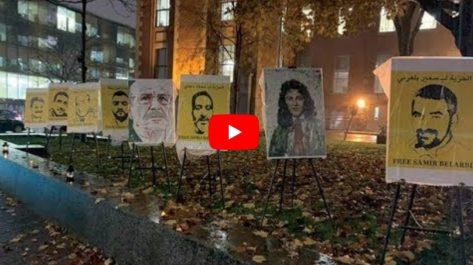 Vidéo | La pluie n'a pas empêché les Algériens de Montréal de sortir Manifester