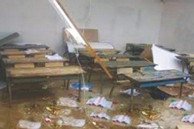 Effondrement du toit d'une école primaire à Chlef : une catastrophe évitée par «miracle»