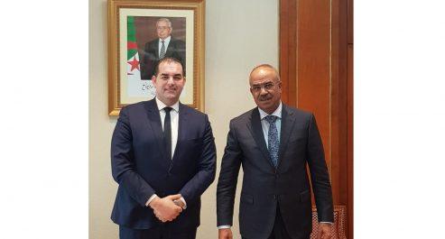 Noureddine Bedoui reçoit le président du FCE
