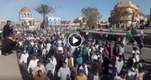 Impressionnante manifestation à El Oued pour le 38e vendredi