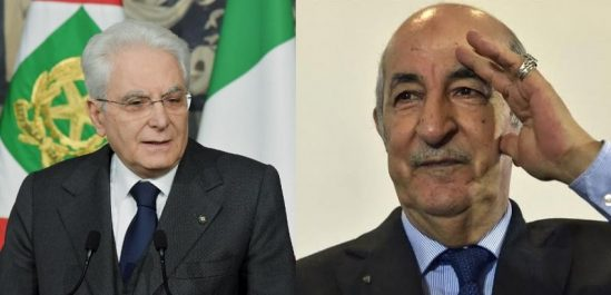 Le message du président italien à Tebboune