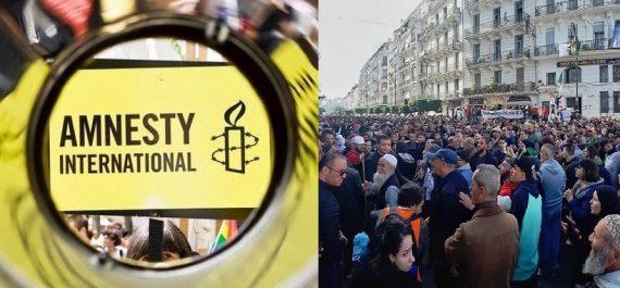 Droit de manifester en Algérie : Amnesty International lance une pétition !