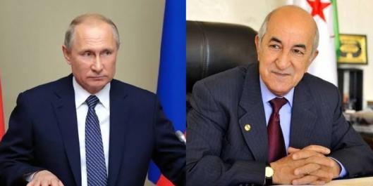 Apres l'élection de Tebboune, la Russie souhaite développer ses relations avec l'Algérie