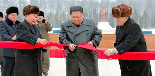 Corée du Nord : Kim Jong Un inaugure un projet titanesque