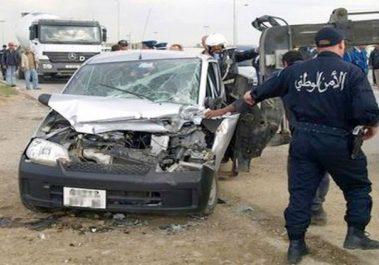 6 morts et 5 blessés dans un accident de la route à El-Oued