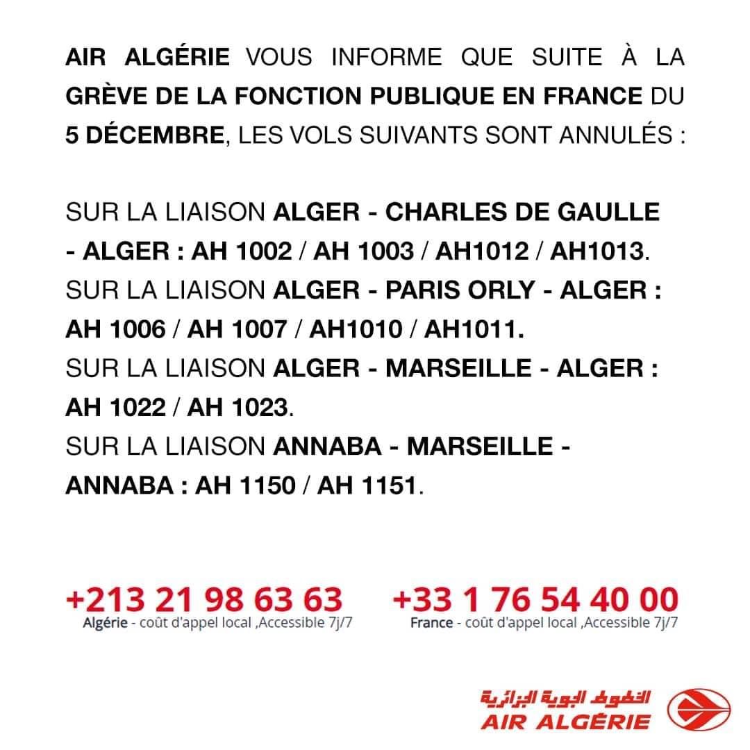 #annulation_vol_air_algerie