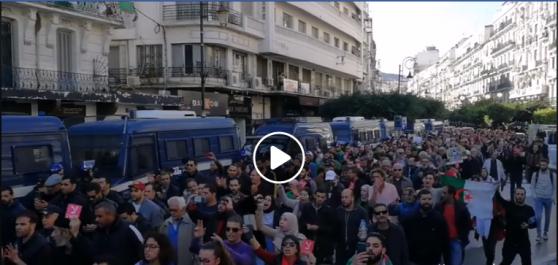 🔴 Vidéo   marche à Alger contre les élections
