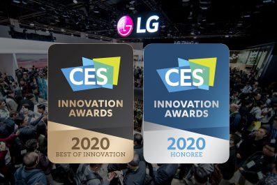 LG remporte le prix innovation de CES 2020