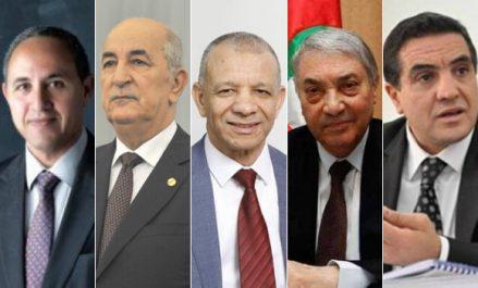Les déclarations des cinq candidats après l'accomplissement de leur devoir électoral