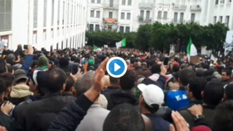 Vidéo | Les manifestants à Alger évoquent des «élections militaires»