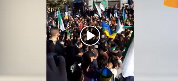 🔴 Vidéo   Grève générale et marche à Bouandas et Tizi n'Braham à Sétif
