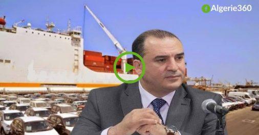 Vidéo | Le DG des Douanes s'exprime sur l'importation des véhicules de moins de 3 ans
