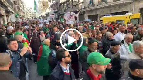 Participation massive au 48e vendredi à Alger