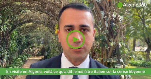 En visite en Algérie, voilà ce qu'a dit le chef de la diplomatie italienne sur la crise libyenne