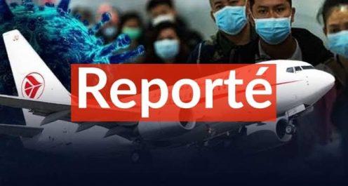 Report du rapatriement des algériens bloqués à Wuhan