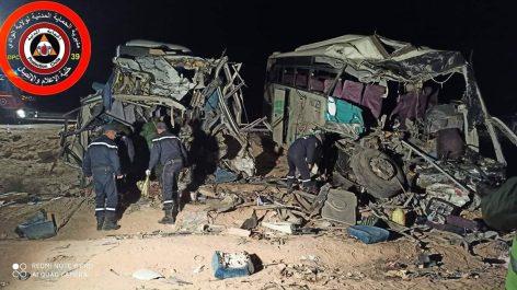 Drame routier à El Oued : Douze morts et quarante-six blessés