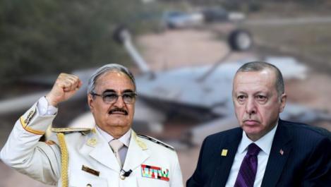 Un drone turc abattu par l'armée de Haftar
