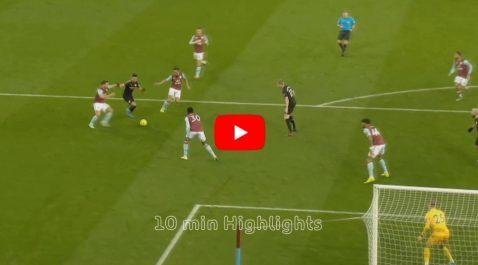 Vidéo | Mahrez auteur d'un doublé face à Aston Villa