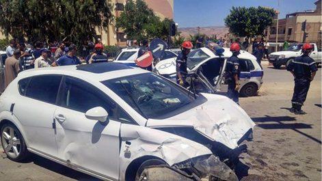 Protection civile: 13 morts et 341 blessés en une semaine dans des accidents de la route