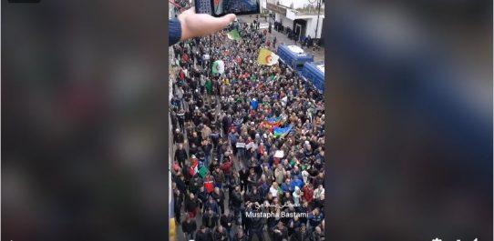 🔴 Vidéo | Un tsunami humain se déferle sur Alger centre au 47e vendredi