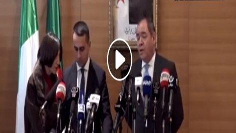 🔴 Vidéo | Sabri Boukadoum: «l'Algérie et l'Italie contre l'intervention militaire en Libye»
