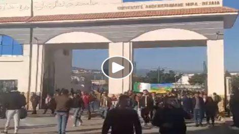 🔴 Vidéo | 46e Mardi des étudiants à Bejaïa