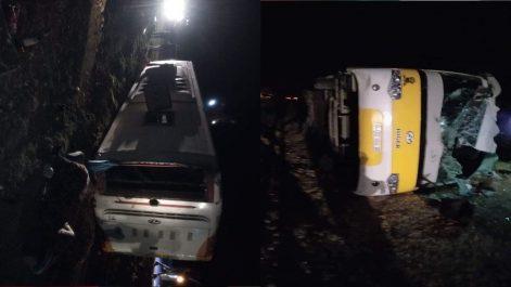 Renversement du Bus à M'sila: 5 morts et 37 blessés