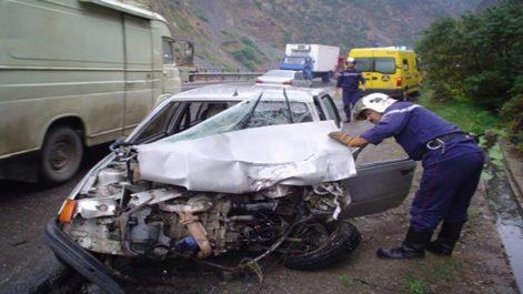Sept morts dans neuf accidents de la route en 48 heures