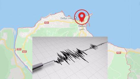 Deux secousses telluriques enregistrées ce matin à Boumerdès