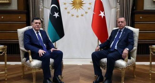Le président turc annonce le début du déploiement de ses soldats en Libye