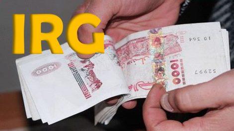 Tebboune annonce la suppression de l'IRG pour les salaires inferieures à 30000 DA